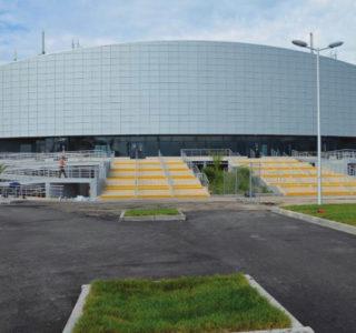 Олимпийский парк г.Сочи. Керлинговый центр «Ледяной куб»