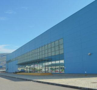 Олимпийский парк г.Сочи. Тренировочная ледовая арена для хоккея